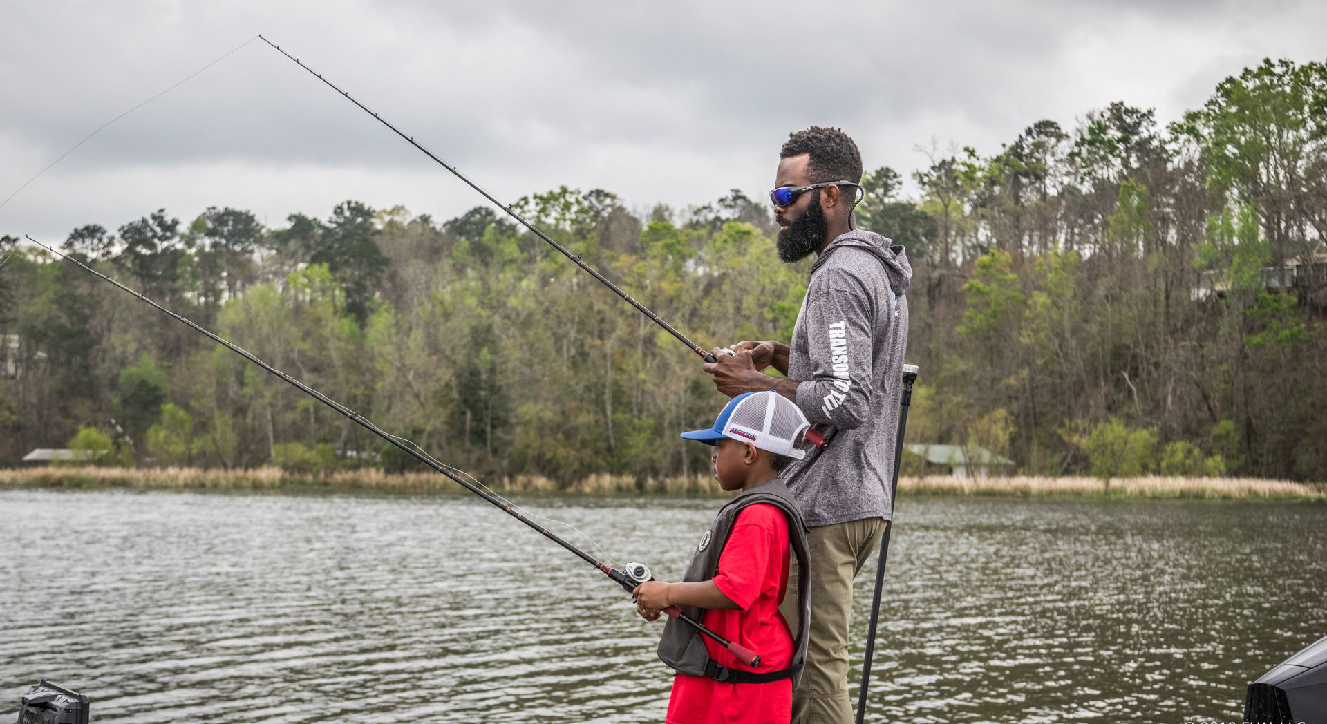 Latimer and Son Fishing