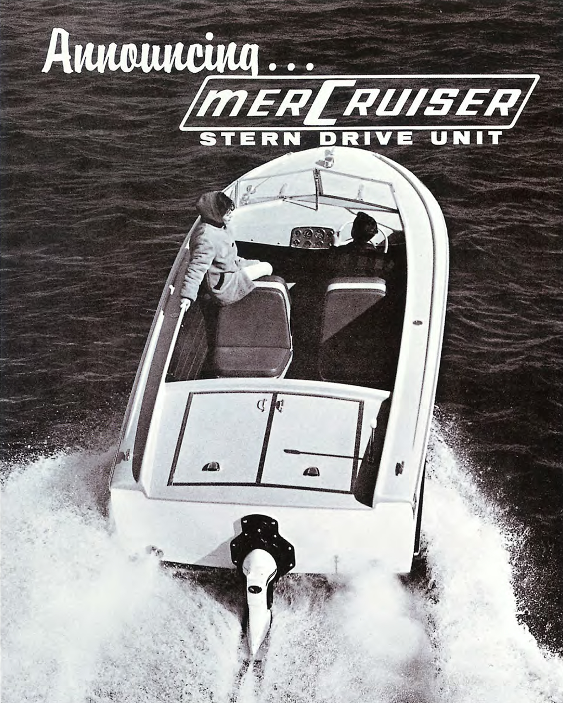 Sterndrive Engine Mercury Marine