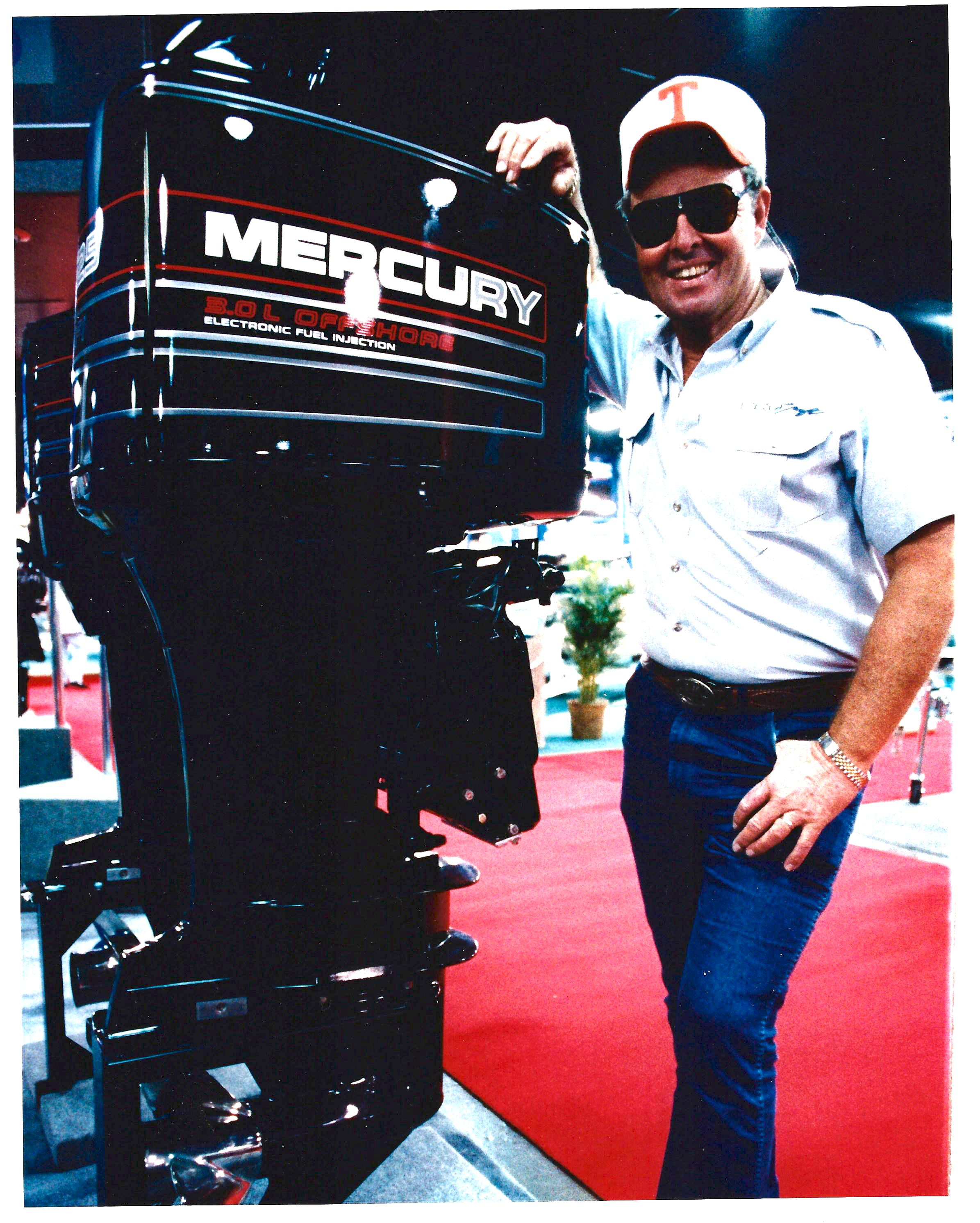 Bill Dance with Mercury