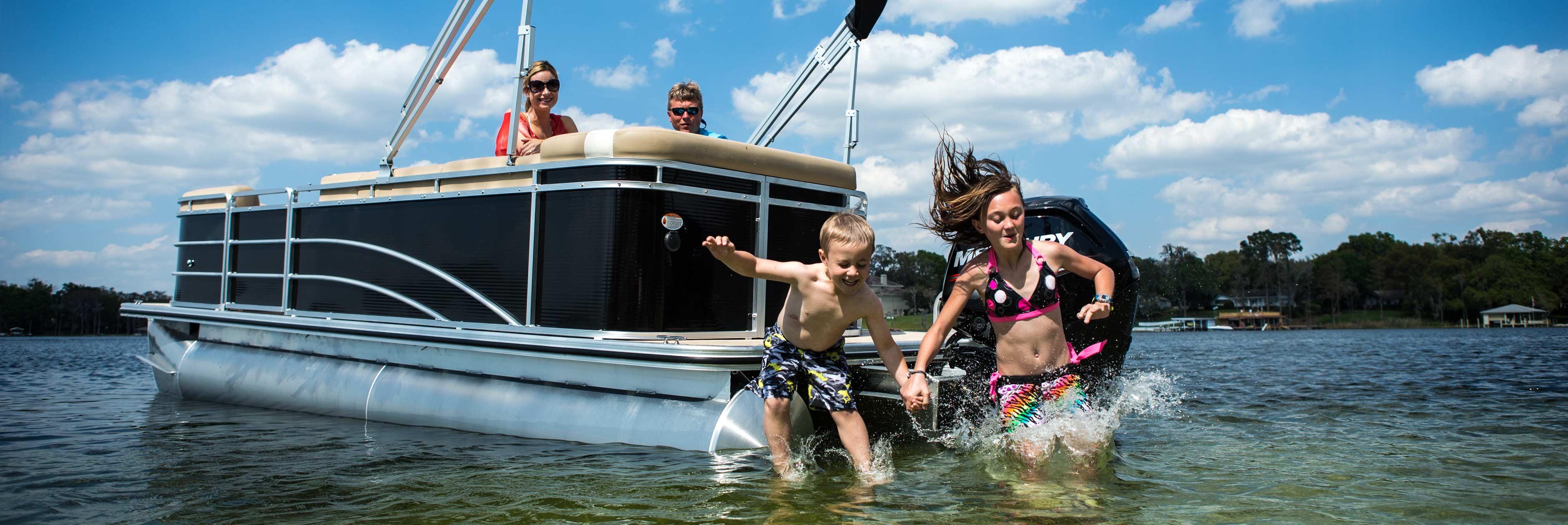 Why Buy a Pontoon or Tritoon Boat