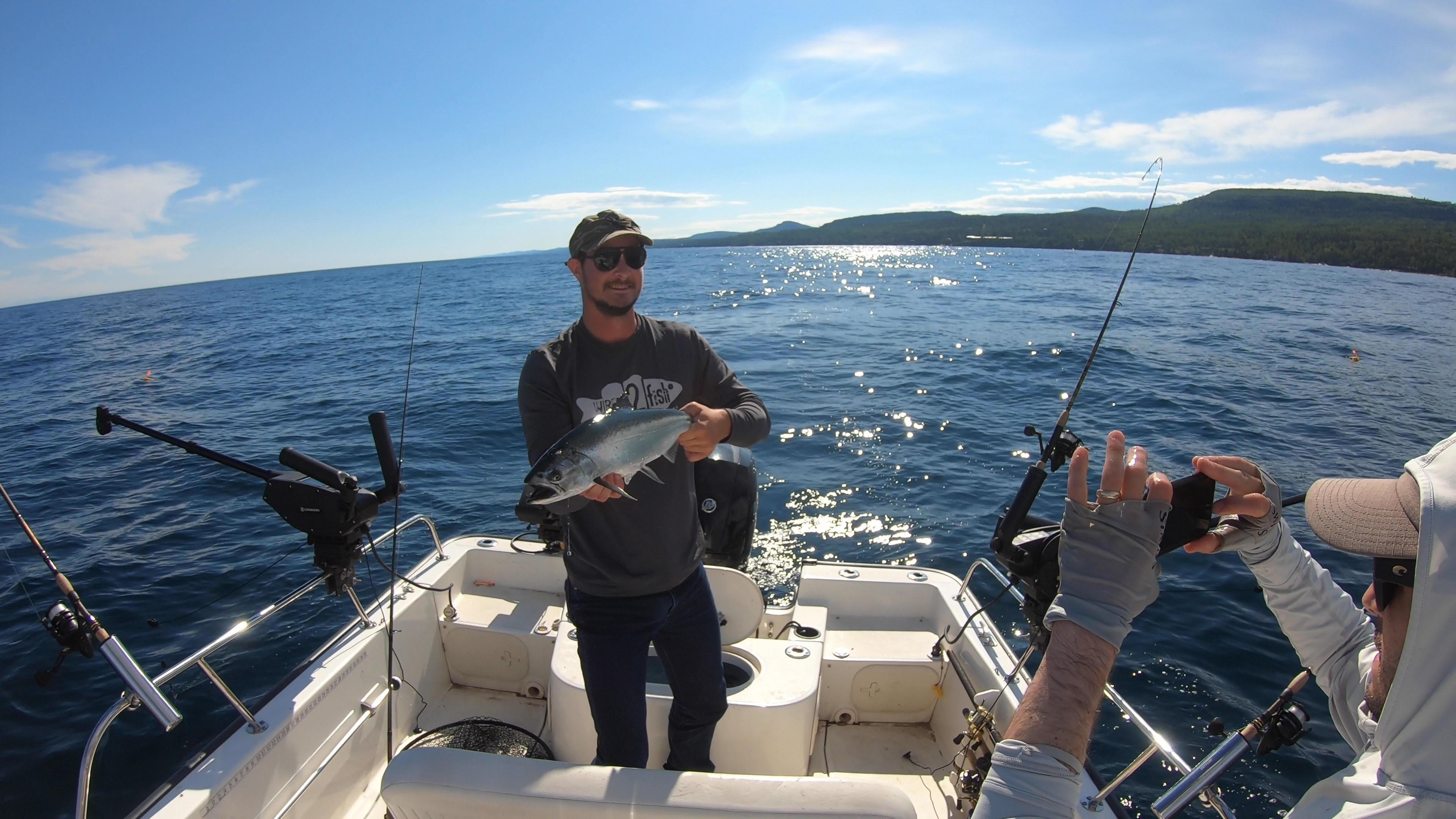 fall salmon fishing mercury marine