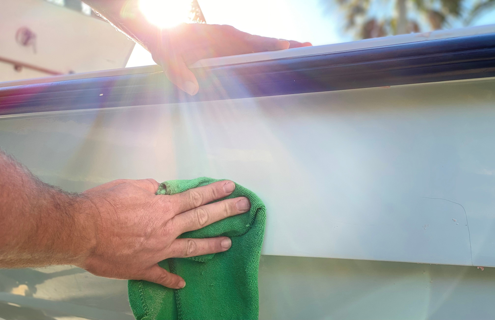 How to Wax Your Boat the Right Way Mercury Marine