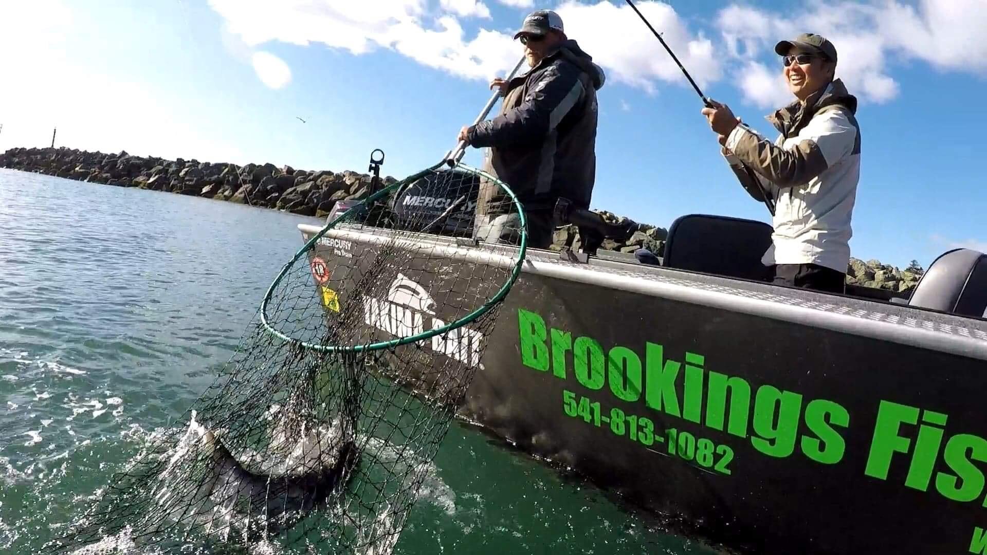 Brookings Fish Charters Mercury Marine