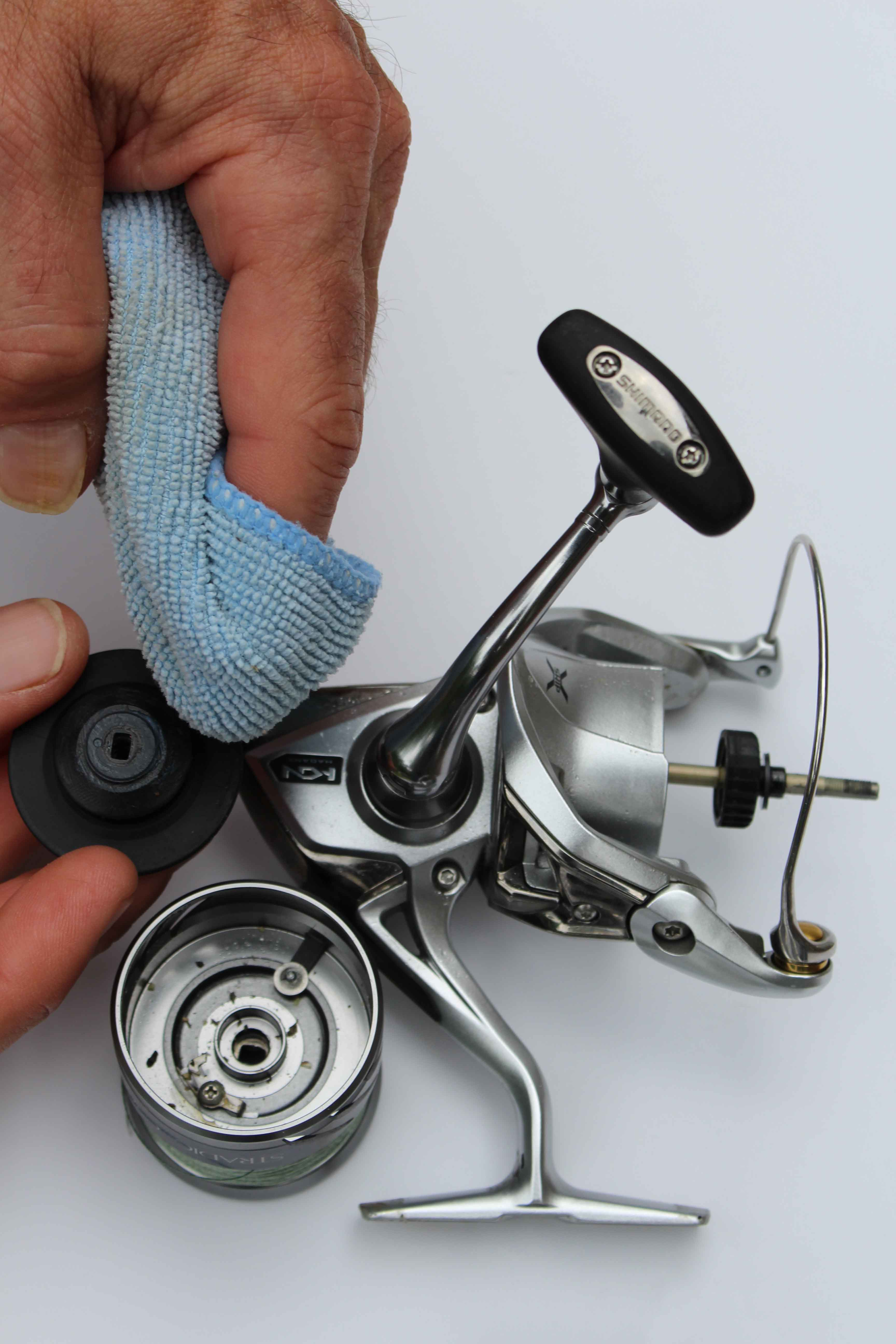 How to Deep Clean a Fishing Reel
