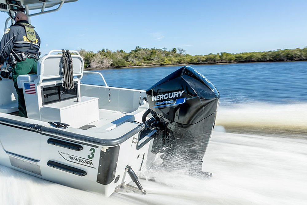 Mercury introduces Verado®, FourStroke, Pro XS® and SeaPro® V8 and