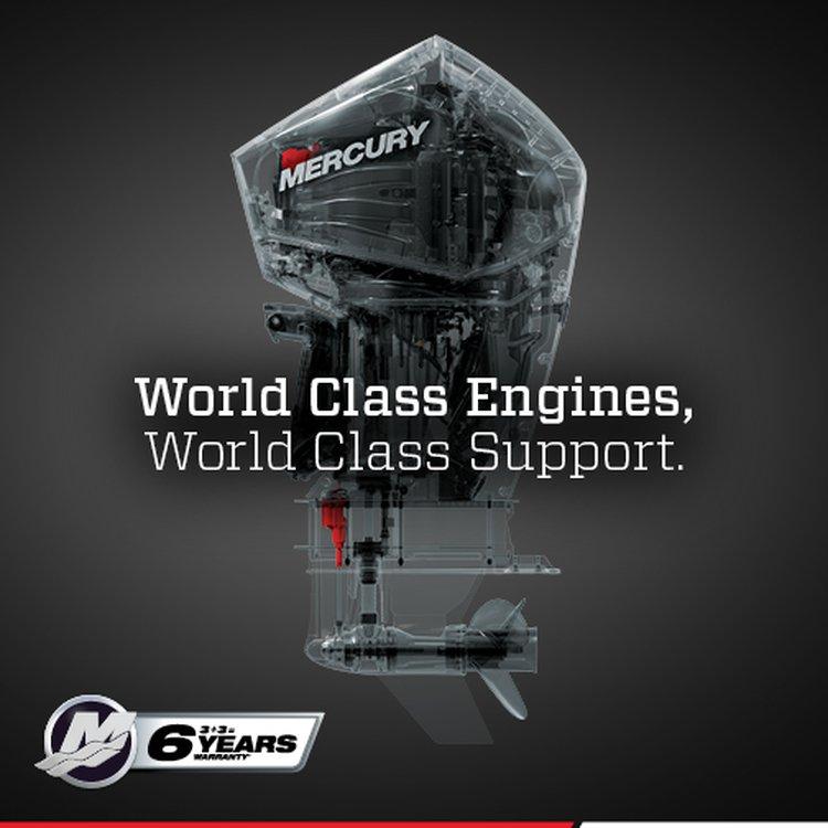 Mercury's new comprehensive Six Year Warranty   Mercury Marine