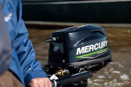 New Mercury 5hp Propane FourStroke is powerful, convenient and reliable