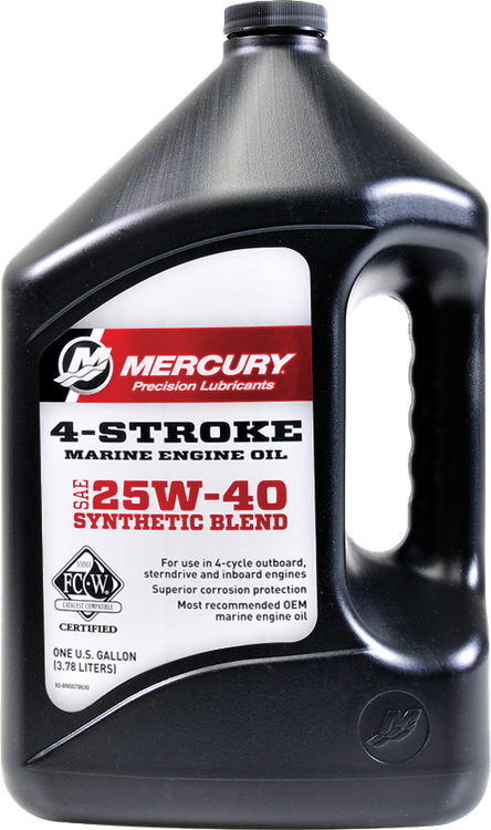 Precision Lubricants 4-Stroke Marine Oil | Mercury Marine