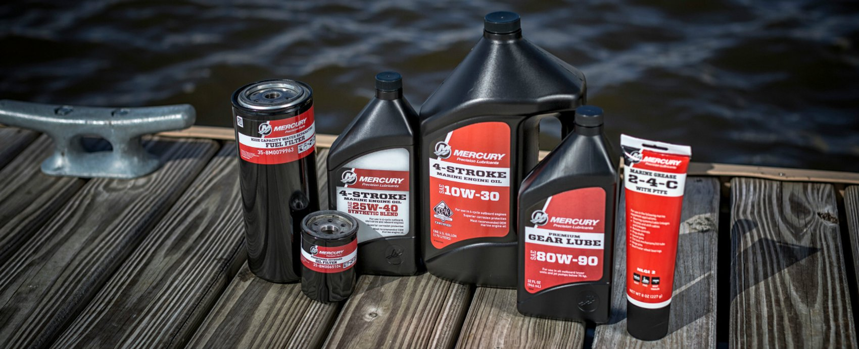 Mercury Dockline | Guide to Precision Oils & Lubricants