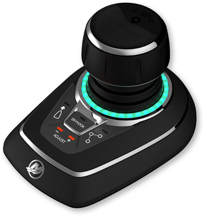 Steering Joystick Piloting For Outboards
