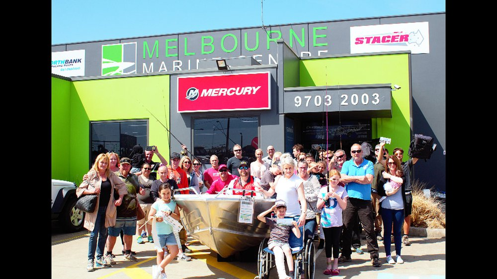 Mercury Outboard Dealers >> Mercury Gets Aboard With Oz Fish Tv Mercury Marine