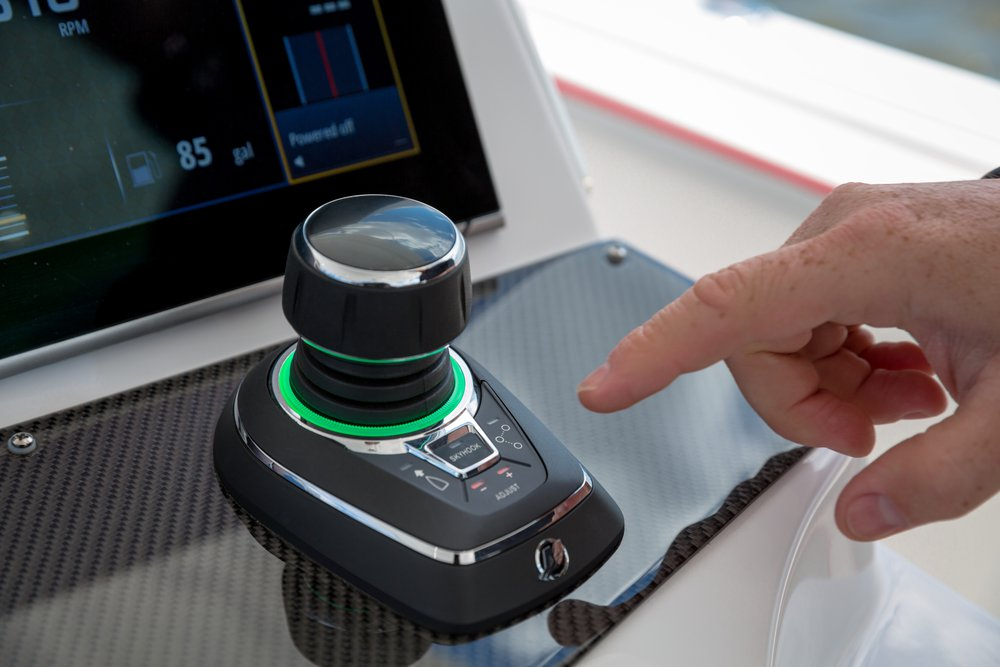 Steering Joystick Piloting for Outboards | Mercury Marine