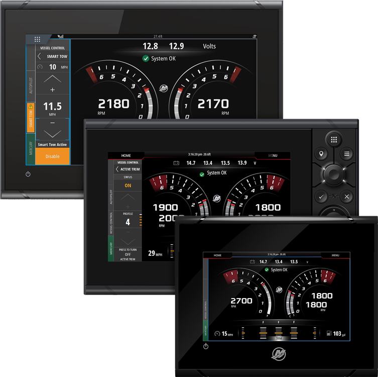 Gauges & Displays VesselView® | Mercury Marine