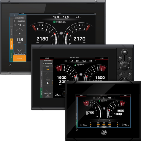 Gauges & Displays VesselView®   Mercury Marine