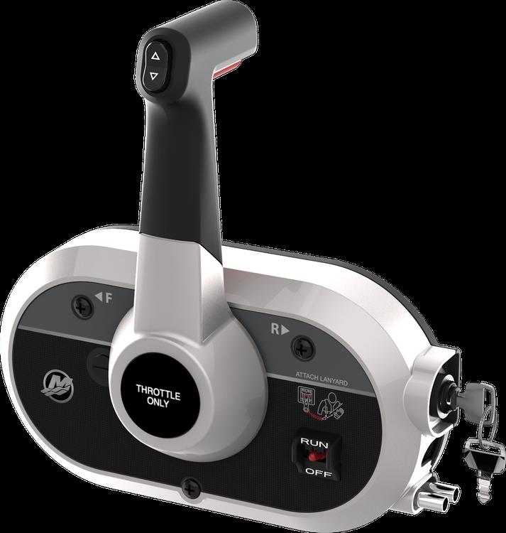 Single-Engine Controls Side Mount | Mercury Marine
