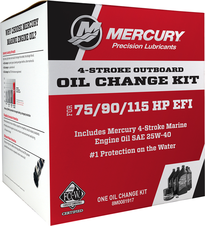 Precision Lubricants Oil Change Kits | Mercury Marine