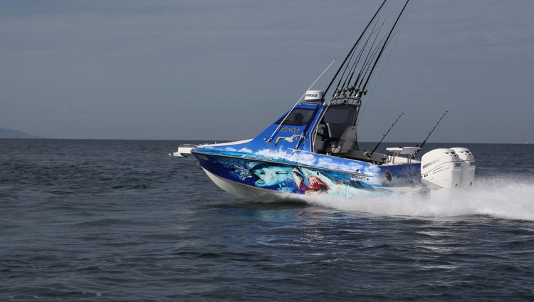 Twin 350 Verados turn CamCraft 6 8 into an off-shore beast