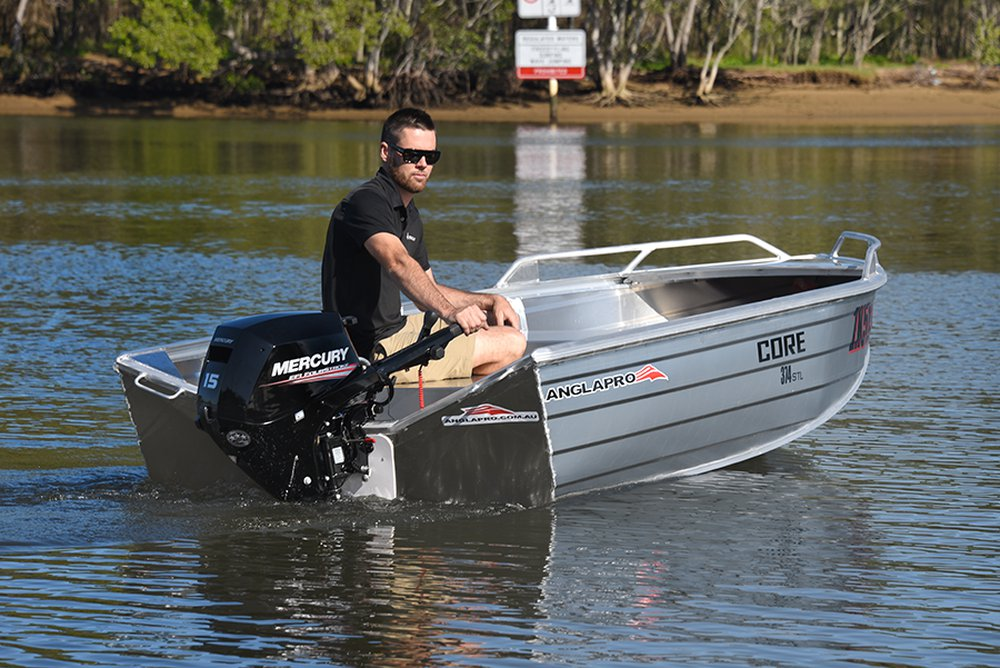 Mercury Portable FourStroke Revolution The all new 15/20hp