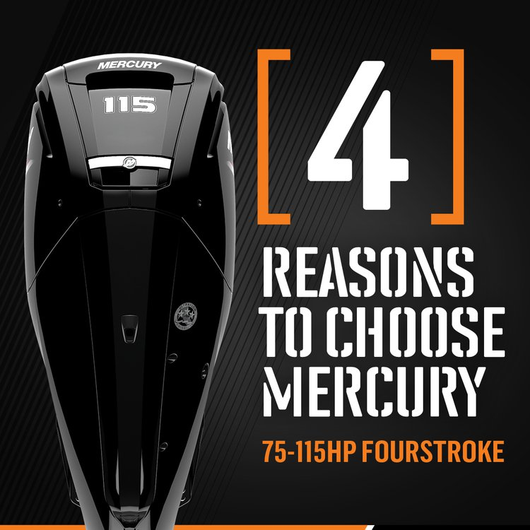 4 Reasons to get a Mercury FourStroke