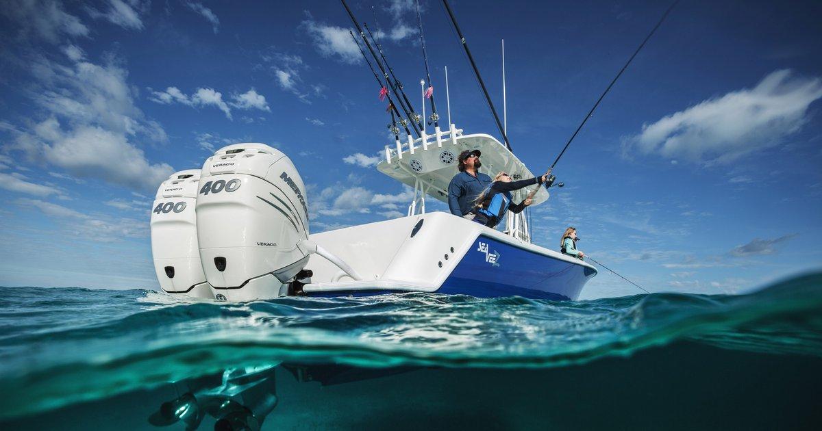 All-new 400hp Verado outboard! | Mercury Marine